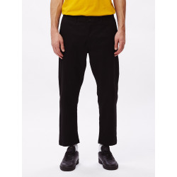 OBEY, Straggler flooded pants, Black