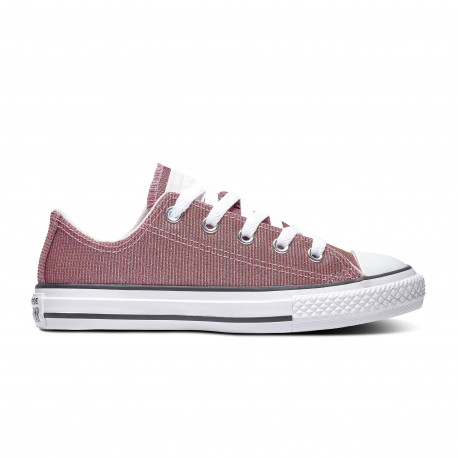 Chuck taylor all star space star ox - Barely rose/silver/white