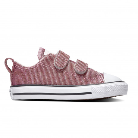 Chuck taylor all star 2v space star ox - Barely rose/silver/white