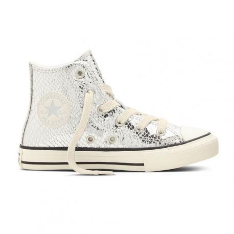 Chuck taylor all star hi - Pure silver/egret/black
