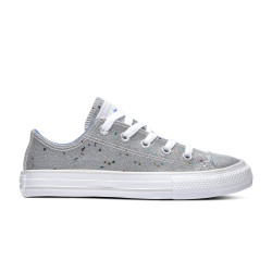 CONVERSE, Chuck taylor all star galaxy glimmer ox, Silver/ozone blue/white