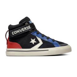 CONVERSE, Pro blaze strap hi, Black/blue/enamel red