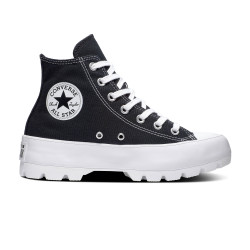 CONVERSE, Chuck taylor all star lugged hi, Black/white/black