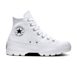CONVERSE, Chuck taylor all star lugged hi, White/black/white