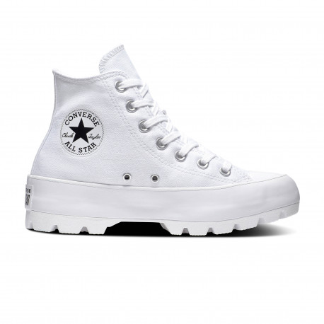 converse chuck taylor all star hi blanche femme