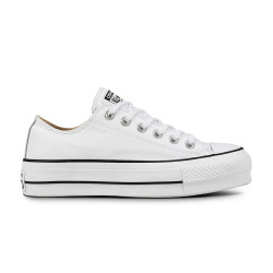 CONVERSE, Chuck taylor all star lift clean ox, White/black/white