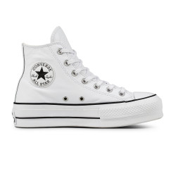 CONVERSE, Chuck taylor all star lift clean hi, White/black/white
