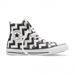 CONVERSE, Chuck taylor all star hi, White/black/white