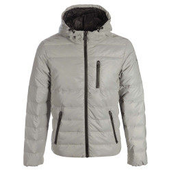 JUST OVER THE TOP, Sea ml capuche reflective, Gris