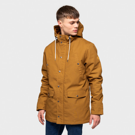 Leif parka jacket - Brown
