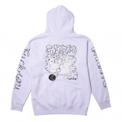 RIPNDIP, Tangled hoodie, White