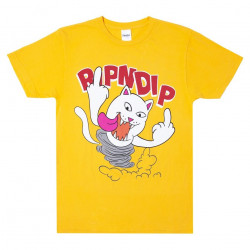 RIPNDIP, Nermanian devil tee, Gold