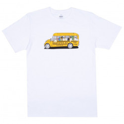 RIPNDIP, School bus tee, White