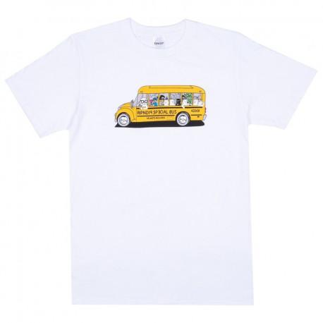School bus tee - White
