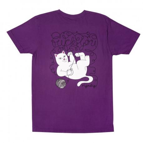 Tangled tee - Purple