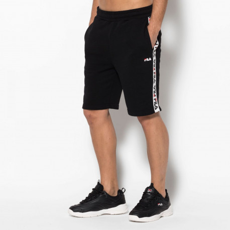 Men tristan sweat shorts - Black