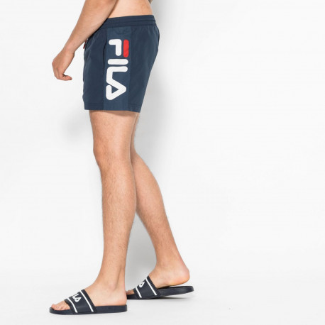 Men safi swim shorts - Black iris