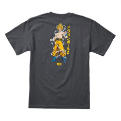 PRIMITIVE, T-shirt dbz super saiyan goku, Charcoal