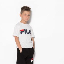 FILA, Kids classic logo tee, Bright white