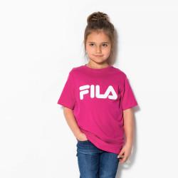 FILA, Kids classic logo tee, Pink yarrow