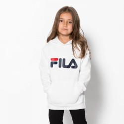 FILA, Kids classic logo hood kangaroo, Bright white