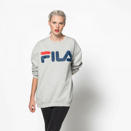 Classic logo sweat - Light grey melange bros