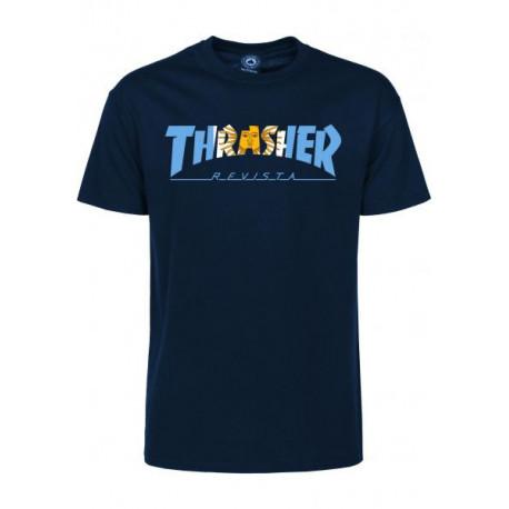 T-shirt argentina ss - Navy