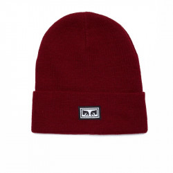 OBEY, Icon eyes beanie, Fig red