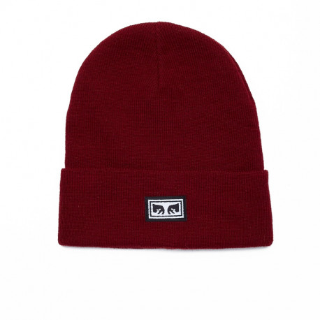 Icon eyes beanie - Fig red