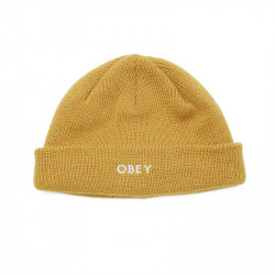 OBEY, Rollup beanie, Golden palm