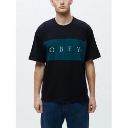OBEY, Conrad classic tee ss, Black multi