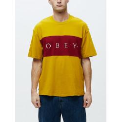 OBEY, Conrad classic tee ss, Golden palm multi