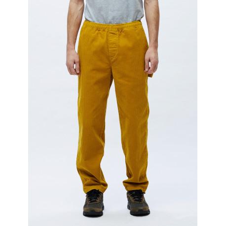 Easy corduroy carpenter pant - Golden palm