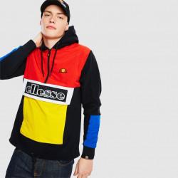 ELLESSE, Legno 1/2 zip hoody, Black