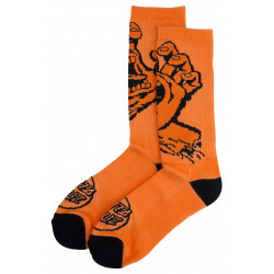 SANTA CRUZ, Screaming hand mono sock, Fluro orange