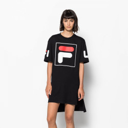 FILA, Women sky tee dress 2.0, Black