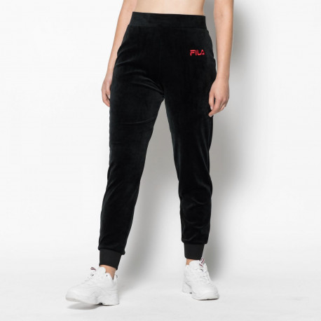 Women sara velour jogger - Black