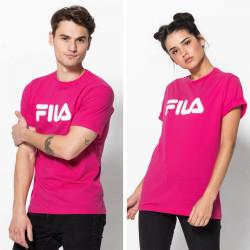 FILA, Classic pure tee ss, Pink yarrow