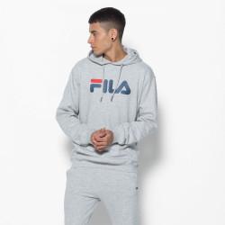 FILA, Classic pure hoody kangaroo, Light grey melange bros