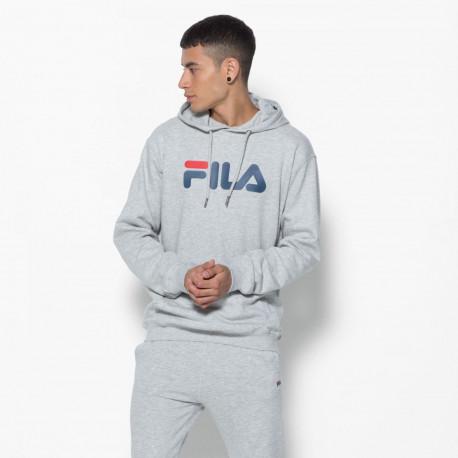 Classic pure hoody kangaroo - Light grey melange bros