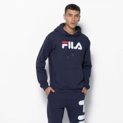 FILA, Classic pure hoody kangaroo, Black iris