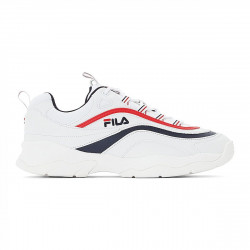 FILA, Ray low, White / fila navy / fila red