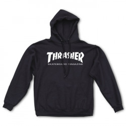 THRASHER, Sweat hood skate mag, Black