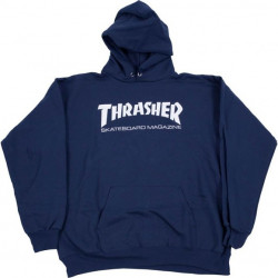 THRASHER, Sweat hood skate mag, Navy