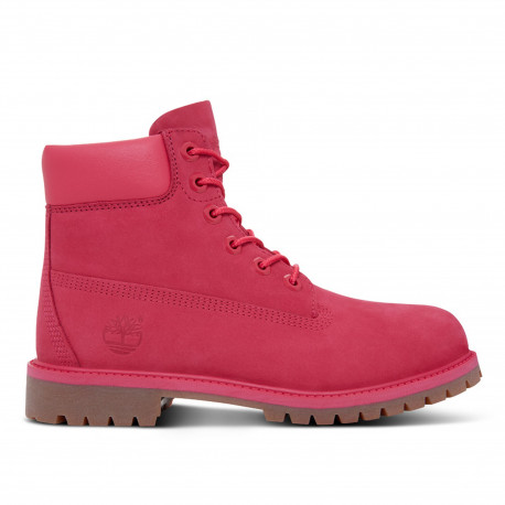 6 in premium wp boot - Rose red