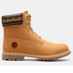 TIMBERLAND, 6in prem w/sock colar, Wheat