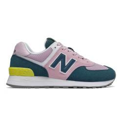 NEW BALANCE, Wl574 b, Pink/blue