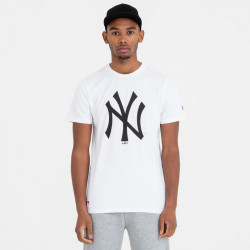 NEW ERA, Mlb apparel tee new york yankees, Optic white