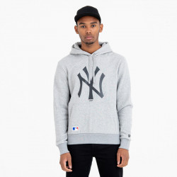 NEW ERA, Mlb apparel hoody new york yankees, Light grey heather