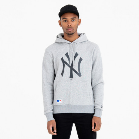 Mlb apparel hoody new york yankees - Light grey heather